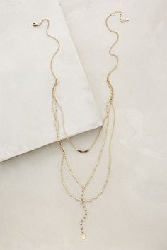 Jardines Layered Necklace #anthropologie