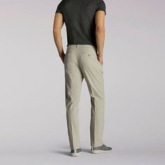 Lee Men's Extreme Comfort Refined Pants - Big & Tall (Size 58 x 30)