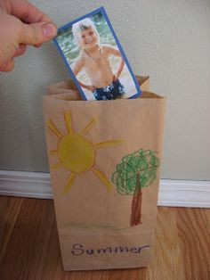 Season Sorting: Use magazine pictures and sort into 4 season bags