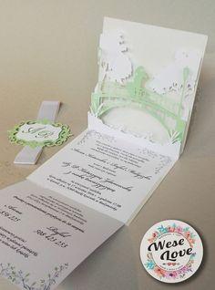 Niebanalne zaproszenie ślubne 3D