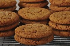 Molasses Cookies are a sugar coated spicy flavored cookie with a chewy texture. From Joyofbaking.com With Demo Video