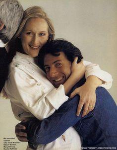Meryl & Dustin Hoffman promoting Kramer vs Kramer ♥