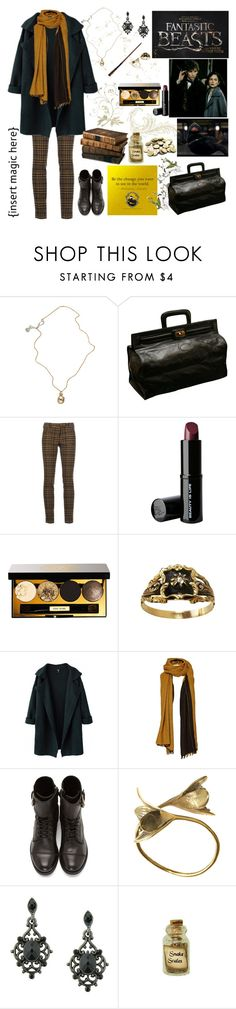 """""""Fantastic Beasts and Where to Find Them"""" by kitten-katerin ❤ liked on Polyvore featuring Jessica de Lotz Jewellery, George, True Royal, Beauty Is Life, Bobbi Brown Cosmetics, Comptoir Des Cotonniers, Diesel, Monserat De Lucca, 1928 and Dollhouse"""