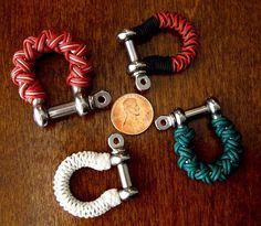 Stormdrane's Blog: Anchor shackle turks head knots...