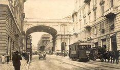 Genova, uno sguardo alla città di un tempo, Via XX Settembre