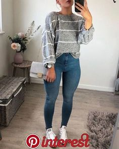 Pin on cute outfits 3 pin on cute outfits 3 anziehen, persönlicher stil, sc Cute Outfits For School, Cute Casual Outfits, Outfits For Teens, Cute Outfits For Fall, Casual Church Outfits, Back To School Outfits Highschool, Casual College Outfits, Cute Everyday Outfits, Teen Winter Outfits