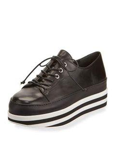 STUART WEITZMAN ACTIVATE STRIPED PLATFORM SNEAKER. #stuartweitzman #shoes #