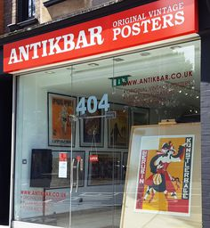 A splash of colour after the rain! Visit our gallery or browse our extensive collection of original vintage posters online (with worldwide delivery) at: AntikBar - Original Vintage Posters, 404 King's Road, London SW10 0LJ. AntikBar.co.uk
