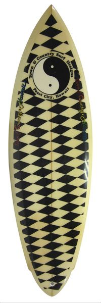 Town & Country surfboard