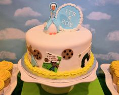 You have to see this storybook baby shower party! See more party planning ideas at CatchMyParty.com!