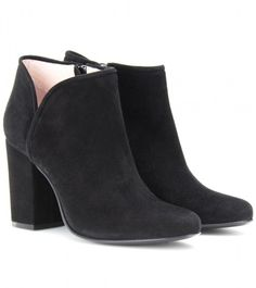Penny Suede Ankle Boots - Lyst