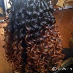 beautiful deep wave hair