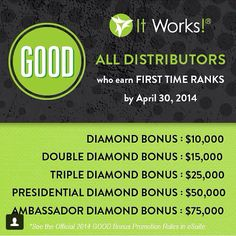 There's still time!!! You want your own business that gives bonuses like this?!?! Who wouldn't, let's chat today! Contact me at beglamorousgettingfit@live.com