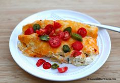 Gourmet Girl Cooks: Low Carb Chicken Enchilada Casserole - Even Better the Second Night
