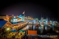 Talbot Street in Ocean City is full of life, just off the boardwalk. Photo by J. Bunting #ocmd