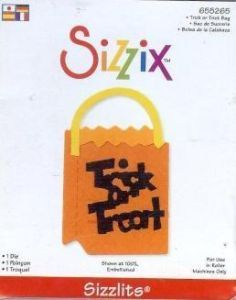 Sizzix Sizzlits TRICK OR TREAT BAG