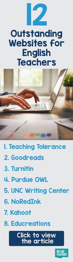 Best Websites for English Teachers ... Share the List! - WeAreTeachers