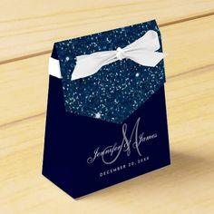 Starry Night time Glitter Elegant Wedding ceremony Favor Field. >> Discover even more at the picture link