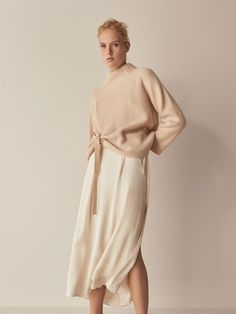 Image result for massimo dutti silk skirt