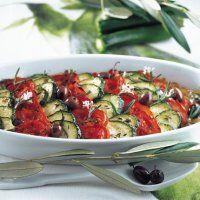 Tian de courgettes aux olives - Marie Claire Maison
