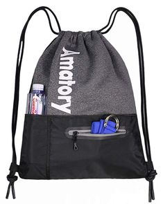 Subtle Pink Drawstring Backpack Sports Athletic Gym Cinch Sack String Storage Bags for Hiking Travel Beach