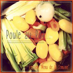 poule-au-pot-recette-hiver Pots, Celery, Vegetables, Cooking Recipes, Winter, Vegetable Recipes, Cookware, Jars, Veggies