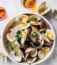 End Your Cooking Rut with Steamed Clams with Herbs and Lime