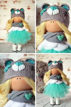 Fabric doll Interior doll Home doll Art doll by AnnKirillartPlace