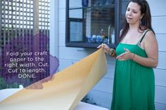 Kraft Paper Table Runner DIY