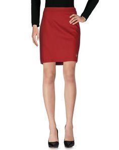 LOVE MOSCHINO Knee Length Skirt. #lovemoschino #cloth #dress #top #skirt #pant #coat #jacket #jecket #beachwear #