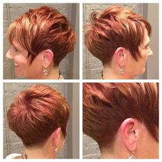 Short Hairstyles for Thin Hair: Women Over 40-50