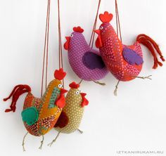 Adore these chicks!  So easy to make but very effective.