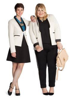 New jacket designed by a curvy lovely for modcloth, but goes from small sizes all the way to 4X because unlike any designers, she doesn't size discriminate!!! Love it!