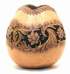 Gourd art again.