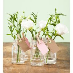 Flower Votive Wedding Place Setting