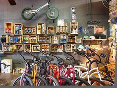 the path bicycles & ride shop: Bicycle Warehouse, Bicycle Cafe, Bicycle Shop, Motorbike Clothing, Bike Boots, Bike Storage, Shop Layout, Bike Design, Mango