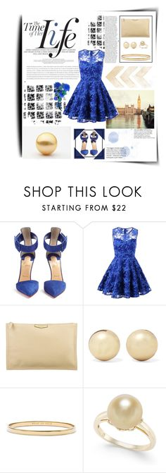 """""""Rosegal"""" by breeches ❤ liked on Polyvore featuring Christian Louboutin, Givenchy, Kenneth Jay Lane and Kate Spade"""