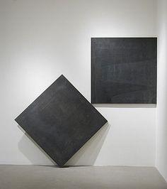 """Thinking of Sesshu"" 1987 Richard Serra."
