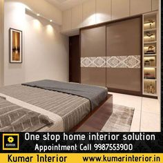 Specialized in residential Interiors Thane, 9 years experience, 300 plus projects completed Sliding Wardrobe Designs, Wardrobe Interior Design, Wardrobe Design Bedroom, Bedroom Furniture Design, Master Bedroom Design, Modern Bedroom, Home Interior Design, Bedroom Decor, Wardrobe Closet