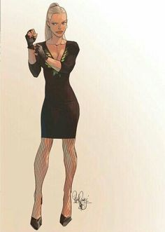 Black Canary by Otto Schmidt Female Character Design, Comics Girls, Girl Cartoon, Girls Illustration, Otto Schmidt, Character Design, Character Art, Illustration Character Design, Black Canary