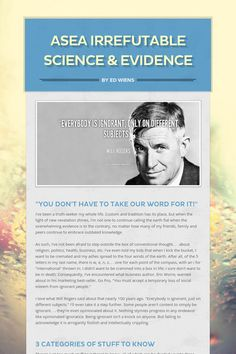 ASEA Irrefutable Science & Evidence                                                   ahealthboost.com