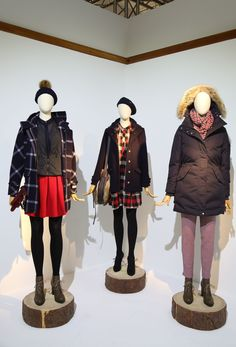 WP Area, Pitti, #Woolrich John Rich & Bros Women's FW13 collection. #fashion #style #pitti