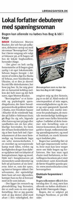 BESVÆRGELSEN i Lørdagsavisen Køge den 10. maj 2014