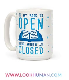 Show off your love of books and your indifference toward the male gender with this funny and sassy, book lover's, reading enthusiast's, introvert humor, anti-boys and pro-literature coffee mug! Tell the world they better keep it quiet when you have your nose in a good book!