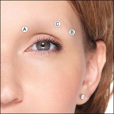 Step by step information and pictures of how to apply eyebrows with makeup, using an eyebrow pencil. Short Eyebrows, False Eyebrows, Eye Brows, Eyebrow Makeup Tips, Eyeshadow Makeup, Beauty Makeup, Makeup Eyes, Hair Makeup, How To Do Brows