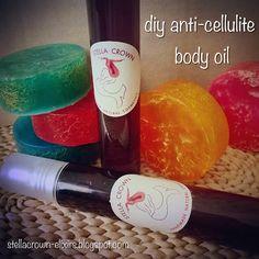 φυσικά καλλυντικά Stella Crown: diy anti-cellulite body oil