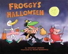 2013 Halloween Story Time. Froggy tries to find just the right costume for Halloween and although his trick-or-treating does not go as he had planned, he enjoys himself anyway.