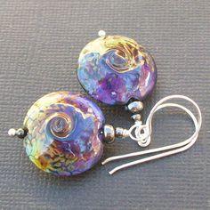 http://www.etsy.com/listing/68803170/lampwork-earrings-black-bright-raku