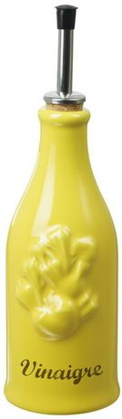 Revol Бутылка для уксуса Прованс (0.25 л), 23х6.5 см, желтая с серым (P95-129-2105)