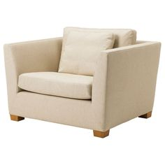 Ikea Stockholm 1.5 seat Armchair Cover Chair Slipcover Gammelbo Beige 901.095.43 #IKEA #Contemporary